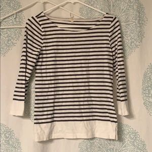 Jcrew Factory Boatneck top